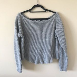 MISSGUIDED Grey Sweater